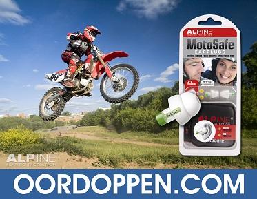 Oordopjes Motor Oordoppen Motorrijden Gehoorbescherming Alpine MotoSafe