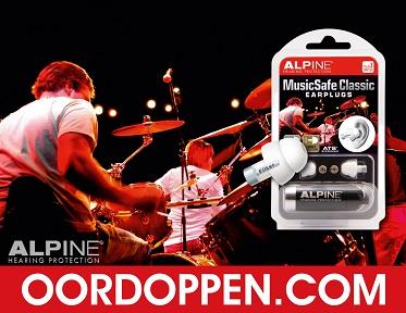 Oordopjes Concert Oordoppen Festival Gehoorbescherming Party Alpine MusicSafe