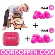 Pinkpop Oordopjes aanbieding Actie Oordoppen pp16 muziek filter festival kruidvat pluggerz music crescendo