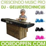 Beste Oordoppen voor DJ Geluidstechnicus Crescendo Music PRO Drummers Gitaristen Oordopjes Muzikant universele Gehoorbescherming