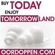 Tomorrowland Oordopjes voor Festival Nicky Romero Oordoppen Fedde le Grand Afrojack Don Diablo Martin Garixx