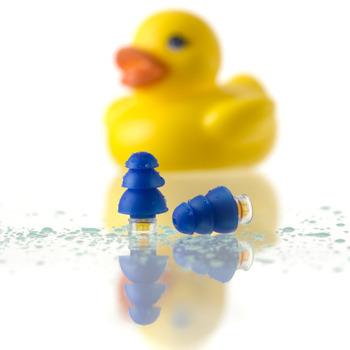 Pluggerz Swim Oordopjes, gehoorbescherming zwembad, oordoppen water, douche, bad, kinderen