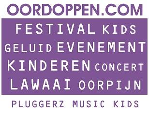 Oordoppen.com Pluggerz Music Kids Oordopjes voor Kinderen Concert Muziekles Uitgaan Festival Evenement