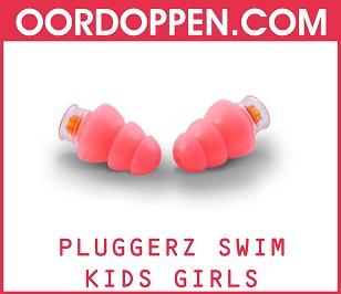 Pluggerz Swim Kids Girls op Oordoppen.com - Roze Oordopjes Meisje Zwembad Zwemmen Kinderen Loopoor Tegen water Pijnlijke Oren Bad Douchen Waterdichte Gehoorbescherming
