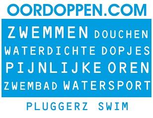 Pluggerz Swim op Oordoppen.com - Oordopjes Zwemles - Zwemmen - Watersport - Pijnlijke Oren - Bad - Douchen - Waterdichte Oordopjes