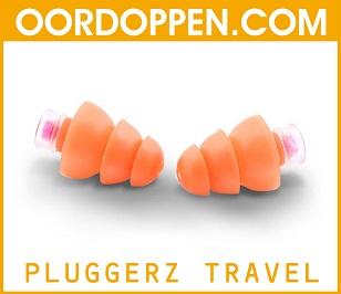 Pluggerz Travel op Oordoppen.com - Oordopjes Vliegen - Vliegtuig - Reizen - Trein - Busreis - Luchtdrukverschillen - Gehoorbescherming - Herrie Stoppers - Concentratie