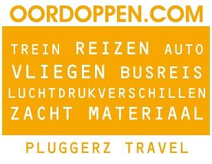 Pluggerz Travel op Oordoppen.com - Oordopjes Vliegen Vliegtuig Reizen Metro Busreis Luchtdrukverschillen Gehoorbescherming Herrie Stoppers Oorpijn Oorsuizen Hoofdpijn Stijgen Landen